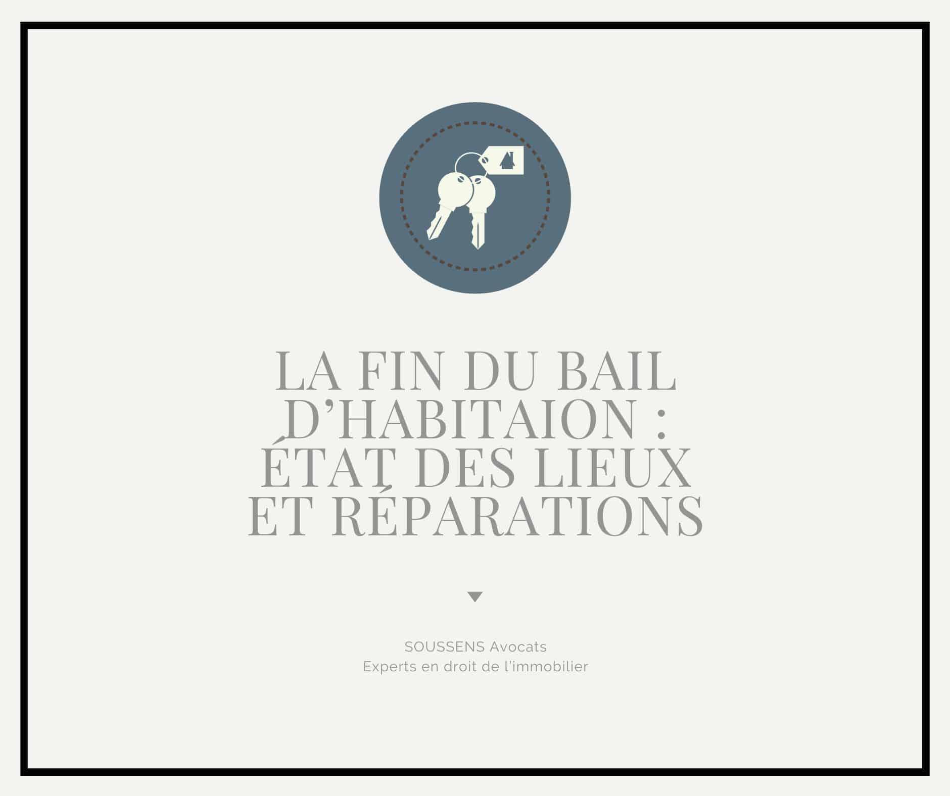 Bail d'habitation : de l'importance de l'état des lieux